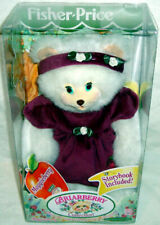 Vtg Fisher Briarberry Maggieberry Plush Bear Figure NRFB 1999