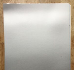 50 Stardream Silver Pearlescent Shimmer Paper A4 120gsm Double Sided iridescent