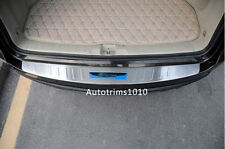 Stainless Outer Rear Bumper Sill Protector Guards Cover Trim For Acura RDX 13-16