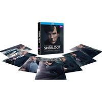 SHERLOCK Definitive Edition (Stagione 1-4 + L'Abominevole Sposa) (10 Blu-ray)