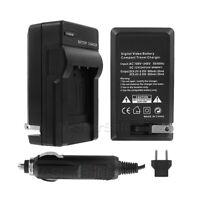 AC/DC Battery Charger for Nikon EN-EL3 D50 D70 D80 D90 D200 D300 D300s D700