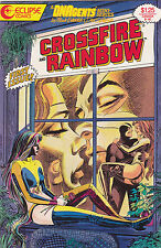 Crossfire and Rainbow #1-4 set Eclipse Comics Mini-Series