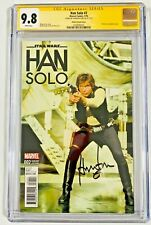 Star Wars Han Solo #2 CGC 9.8 Signed Harrison Ford Signature Series Comic