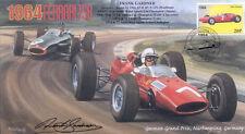 1964d Ferrari 158 & BRM P261 Nurburgring F1 Cubierta Firmado Frank Gardner