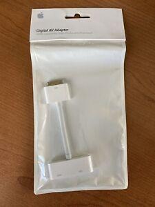 Apple Digital AV Adapter, HDMI Support for iPad, iPhone & iPod, New
