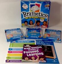 Brainetics Math Memory System Complete Set Plus Three Extra Learning DVD's