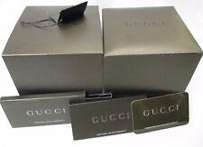 GUCCI Large Watch Box Instructions Book International 2 Year Warranty Card & Tag
