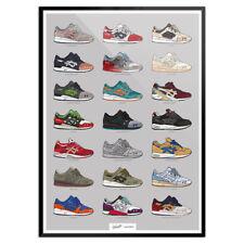 Asics Gel Lyte III-Miami, flamingo, Salomone Toe, footpatrol, Parra-Poster