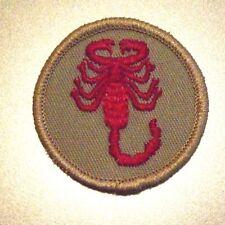 "BSA Boy Scouts of America Scorpion 2"" Patch"