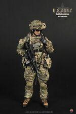 "1/6 Soldier Story US Army Afghanistan M249 Saw Gunner Military 12"" Figure Bonus"