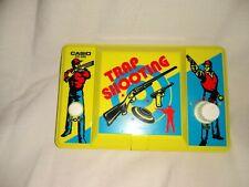 CASIO #CG-340 Vintage 1986 HandHeld Electronic Game TRAP SHOOTING Nice! TESTED