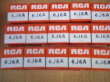 Vacuum  Tubes -  6J6A   RCA   (5 pc NOS / NIB)  (3 offers)  6J6 ECC91
