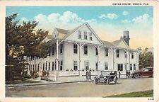 c.1920 Cocoa House Cocoa FL post card