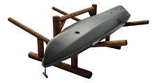 Log Kayak Rack 2-place Side-by-side Unfinished By Hitch Exclusives