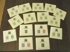 Haiti Stamps # C19-21A Perf Imperf Souvenir Sheet