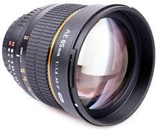 Walimex Pro AE 85 F1.4 IF Objektiv  UMC Canon MF