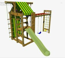 Peppertown SKYFORT Special 1 DIY Playground Cubby House Swings Monkey Bars Slide