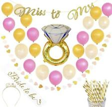 SurrealMoments Bachelorette Bridal Shower Decorations Tiara Sash Balloons 27+ pc