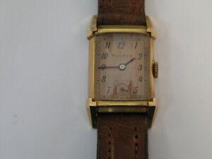 Vintage Bulova Watch Rose Gold Color 1947