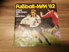Fussball WM 1982 Spanien Sammelalbum Duplo Hanuta komplett Sammelbilder