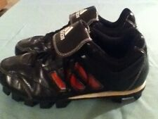 Adidas shoes-Boys-Size 6-Black&red Softball/baseball/sports cleats