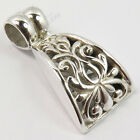 925 Solid Sterling Silver Designer Jewelry Classic Art Tribal, Ethnic Pendant