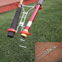 Adjustable Double Pole Bracket Fishing Rod Holder Rest Stainless Tackle# J4U9