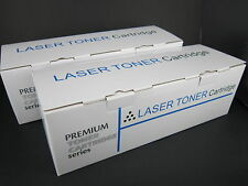 2x Compatible Samsung CLTK407S, 407BK Toner for CLP325, CLP320N, CLX3180,CLX3185