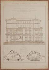 RICORDI DI ARCHITETTURA CONCORSO VITTADINI MILANO PALAZZO PIAZZA DEL DUOMO 1890