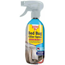 Zero In 500 ml Bed Bug Killer Spray tue lit insectes et acariens De Longue Durée