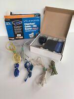 Linksys 4 Port Ethernet Cable/DSL Router 10/100 Mbps BEFSR41