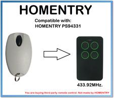 Homentry PS94331 compatible con control remoto 433.92MHz.