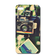 CUSTODIA COVER CASE CAMERA NERA ANTICA FOTO BOKEH PER iPHONE 6 PLUS 5.5""