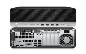 SFF HP ELITEDESK 800 G4 DESKTOP i5 8500, 256GB NVMe , 8GB Win10 Pro-1YR WTY