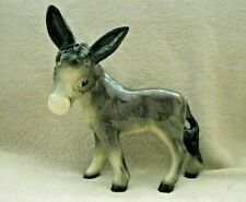 Coopercraft  Donkey Ceramic Figure. 6.5 inches tall.