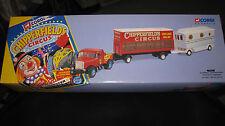 CORGI CLASSIC CHIPPERFIELDS CIRCUS SCAMMELL HIGHWAYMEN + TRAILER & CARAVAN 97885