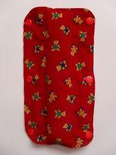 Kids Handmade Seat Belt Pad Reversible - Teddy Bears/Stripes (16)