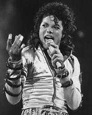 1988 King of Pop MICHAEL JACKSON Glossy 8x10 Photo Musical Print Concert Poster