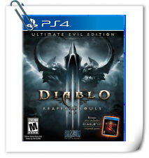 PS4 DIABLO 3 III REAPER OF SOULS ULTIMATE EVIL R2 / R3 SONY Blizzard RPG Games