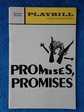 Promises, Promises - Shubert Theatre Playbill - February 1971 - Tony Roberts