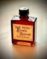 Bay Rum Aftershave Limited Edition, Thor's Hammer Bay Rum, All Natural, 5 oz