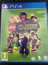 LEGO DC Super Villains Supervillains PS4 PlayStation 4 Kids Game