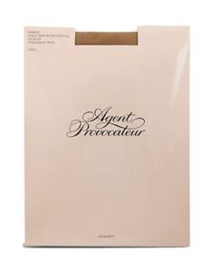 Agent Provocateur Stay-Up Hosiery Stockings Bite Me, Eat Me, Tease Me Sz 2 $55