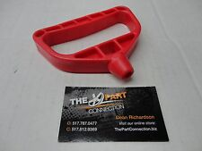 RED PULL START HANDLE UNIVERSAL STYLE FITS ARCTIC CAT SKI DOO POLARIS