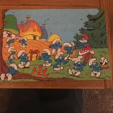 Vintage Smurf Puzzle 100 Pieces #4190-1