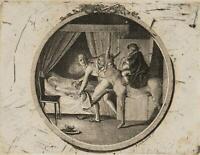 """CHODOWIECKI (1726-1801). Illustration """"Bieresel. Ein sächsisches Volksmärchen"""""""