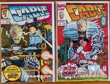 Cable: Blood & Metal #1-2 (1992) Marvel,X-Men,Fabian Nicieza,John Romita Jr