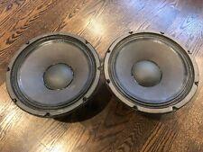 Electro-Voice EVM-12L Series II Speakers - ONE PAIR