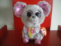 Ty Beanie Boos SQUEAKER the mouse 6 inch NWMT.JUST ARRIVED – VERY CUTE!!