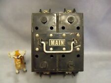 Weco P1002a 100 Amp Main Fuse Block And Fuse Holder Pull Out